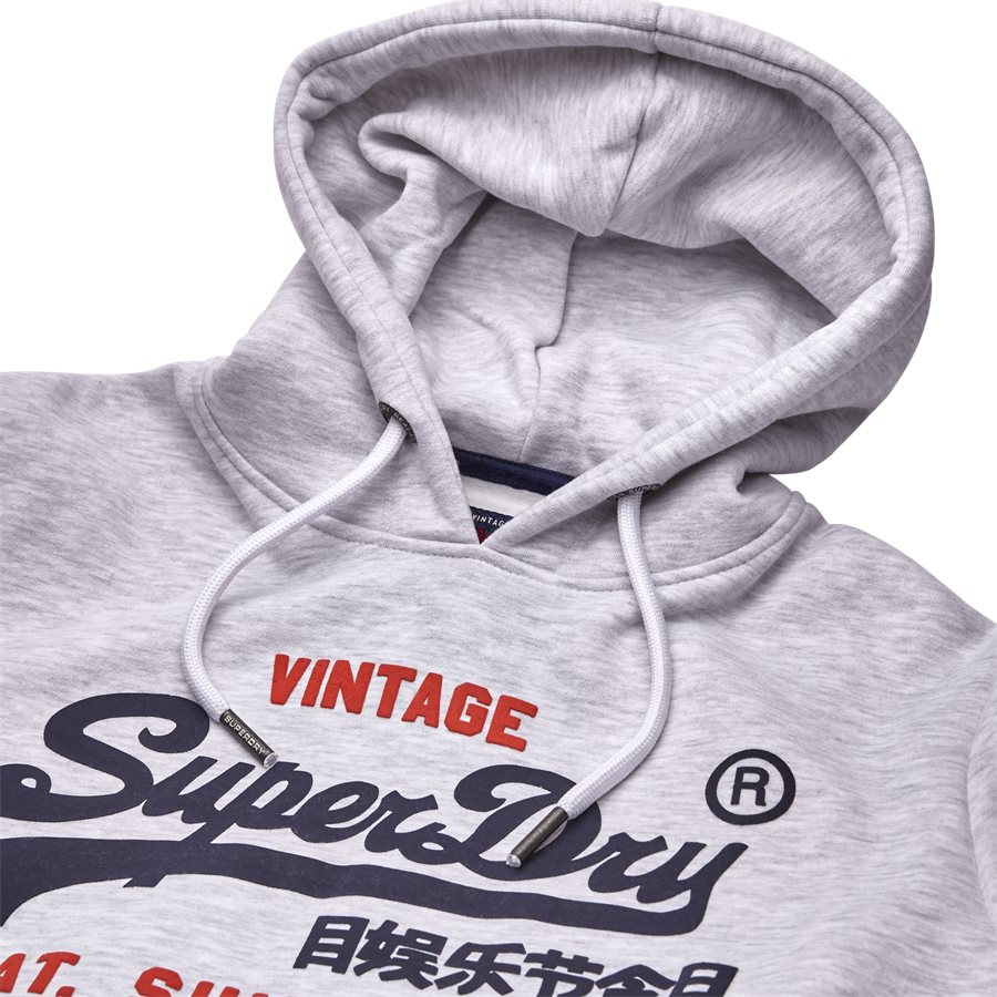 M20004NS - M20004NS Sweatshirt - Sweatshirts - Regular - HVID MELANGE - 3